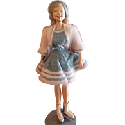 1947 One of A Kind Doll Artist Sara Goldsmith Sonja Henie Doll 16""