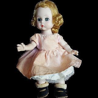 Vintage Madame Alexander-kin Bent Knee Walker Doll