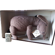 Vintage 1996 R. John Wright Winne the Pooh Pocket Eeyore in Box