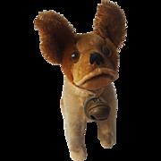 Vintage Steiff Teddy Bear Co. 1920 Red BULLY Dog with Original Chest Tag
