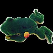 "Vintage 10 1/2"" 26-27cm Steiff Froggy #2360/22 1968 -1978"