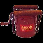 Vintage 1920-40s BOILER Mop Wringer Bucket Salesman Sample