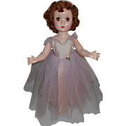 Madame Alexander ROSAMUND BRIDESMAID Doll ~ Hard Plastic Walker Maggie Face Red Head All Original