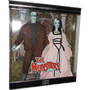 Limited Edition Mattel 2001 THE MUNSTERS (Barbie & Ken) Pop Culture Set MIB