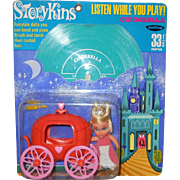 1967 Palitoy (England) STORYKINS Cinderella with Record Mint-In-Package