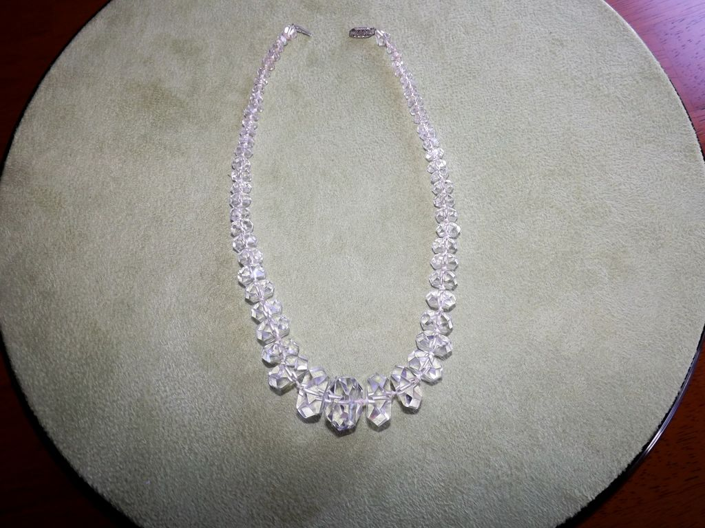 Vintage Rock Crystal Necklace