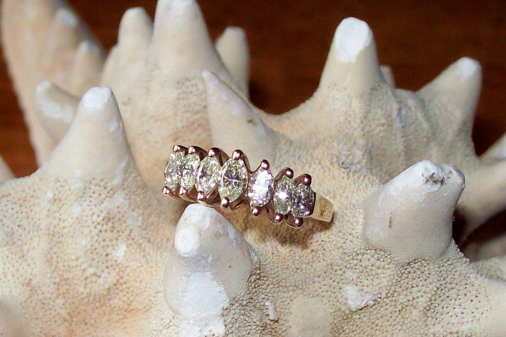 Marquise Diamond Anniversary Band ~ 1.25 carats