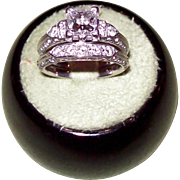 Van Craeynest Diamond Ring Set in 18KT White Gold, Includes GIA and Ashford Reports