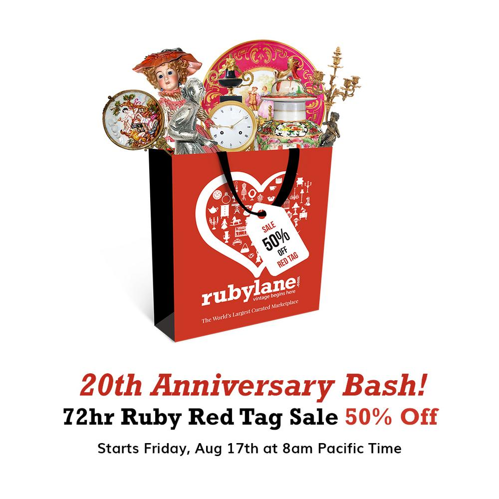 Anniversary Bash Ruby Red Tag Sale