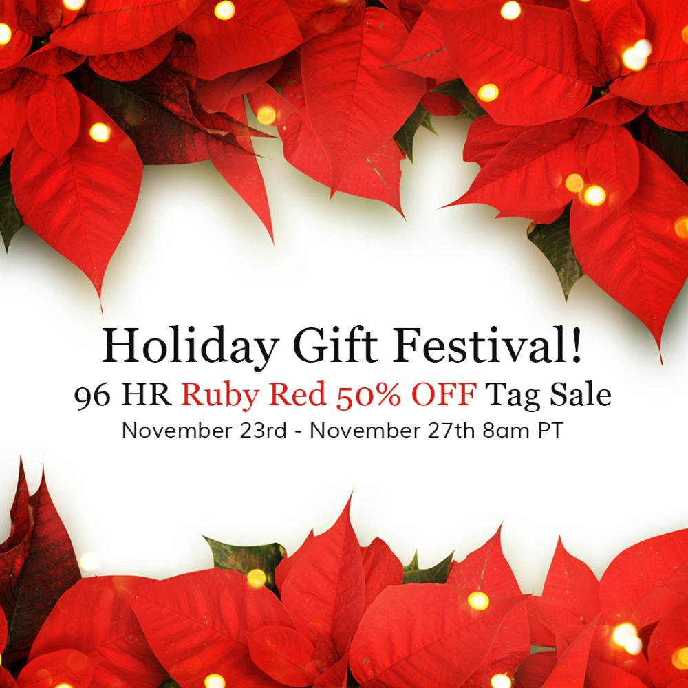 50% OFF Holiday Gift Festival Preview